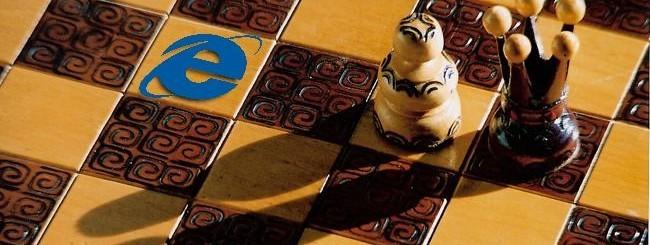 IE10 sugli scacchi