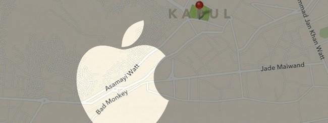 Mappe di Kabul