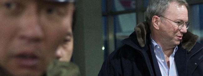 Eric Schmidt in Nord Corea