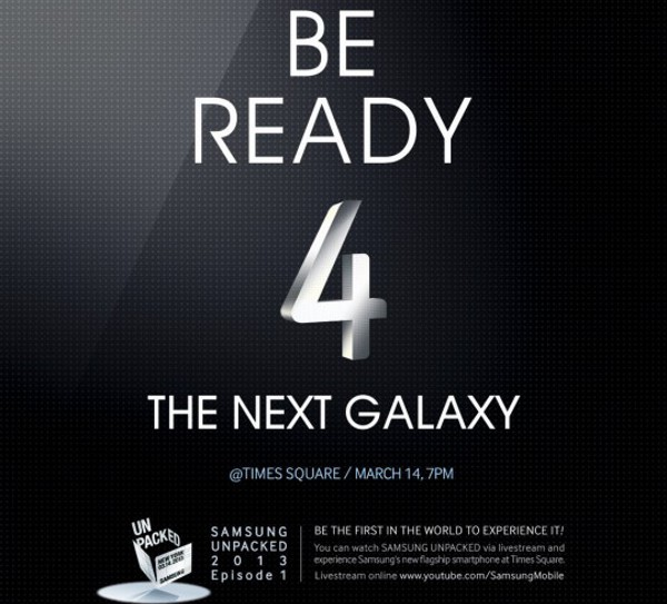 Evento Samsung a Times Square