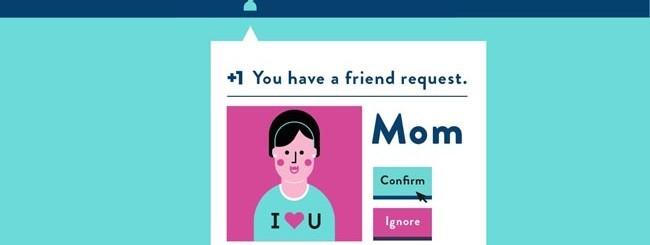 Facebook e mamma