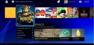 PS4 Interfaccia utente