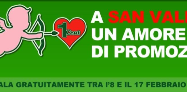 Coopvoce promozione per san valentino webnews for Numero per chiamare amazon