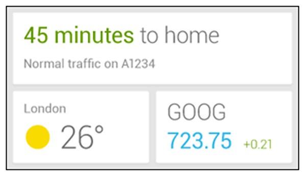 Google Now, l'assistente di Android introdotto con Jelly Bean, presto diventerà un widget
