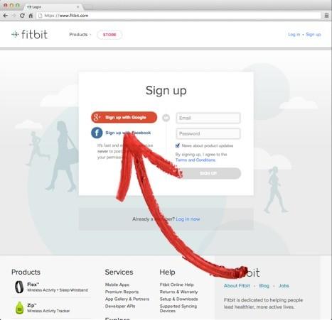 Esempio di sign-in con account Google Plus