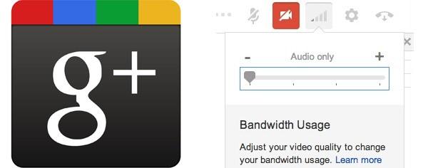 \Da oggi è possibile impostare la qualità degli hangout su Google+ tramite un semplice slider
