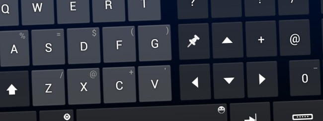 Tastiera touchscreen