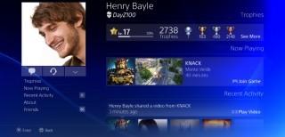 profilo utente su PS4