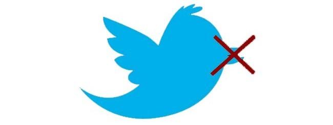 twitter bloccato