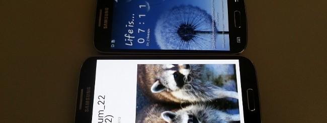Galaxy S4 e S4 Mini