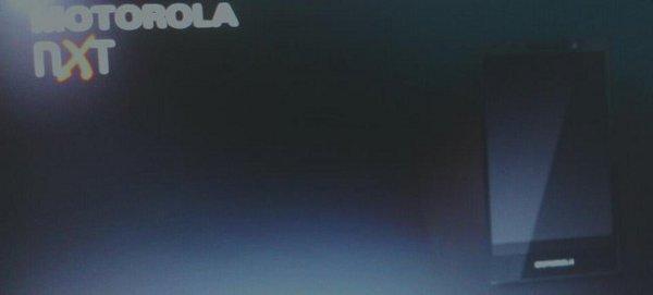 Motorola NXT, la prima immagine dello smartphone X Phone.