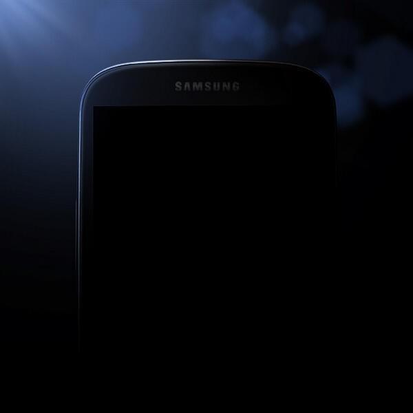 Samsung Galaxy S4, la prima immagine ufficiale