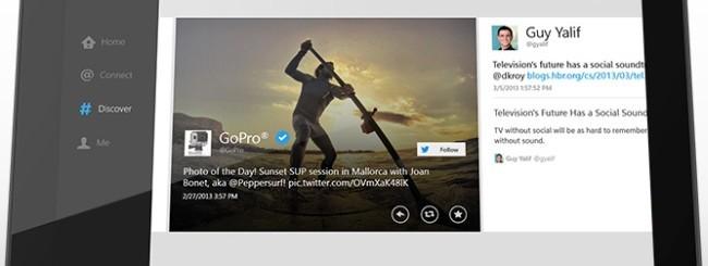 Twitter per Windows 8