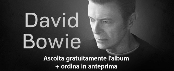 """""""The Next Day"""", il nuovo album di David Bowie, è già disponibile in streaming su iTunes"""