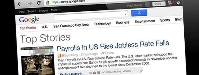 Google News sui tablet