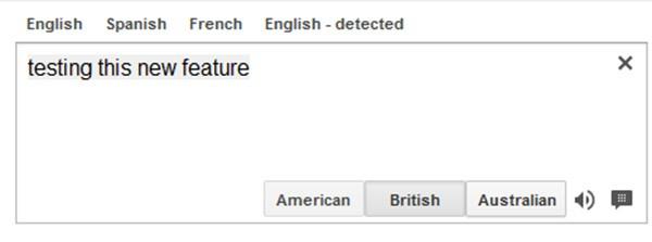 Ecco come apparirà l'interfaccia di Google Translate dopo l'introduzione del supporto ai dialetti