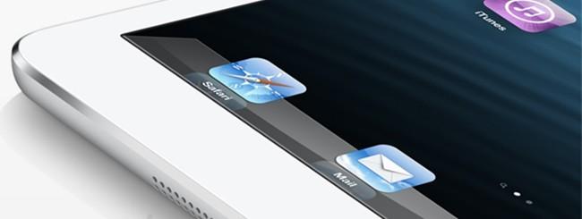 Un dettaglio di iPad Mini.
