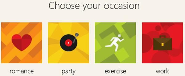 MixShape è la Web app realizzata in collaborazione con Microsoft, per la creazione di playlist Spotify personalizzate