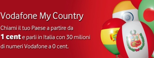 Vodafone My Country