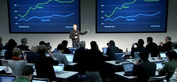zuckerberg conferenza stampa feed