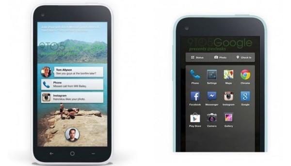 Facebook Phone, le prime immagini della UI.