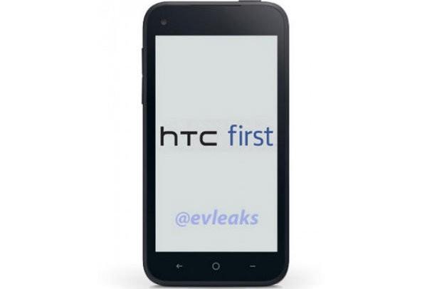 HTC First, la prima immagine del presunto Facebook Phone