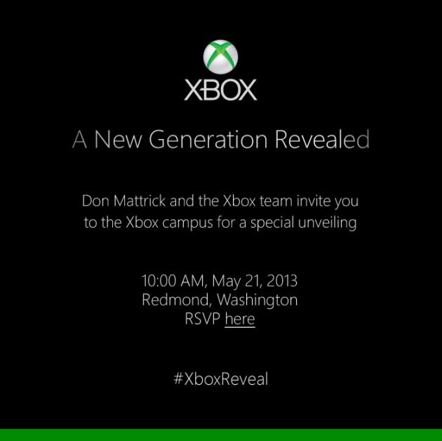 Microsoft invita tutti all'evento stampa che avrà luogo il 21 maggio a Redmond.
