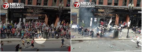 Le foto di un cittadino pubblicate su un sito sono state acquisite dalla FBI: sono le uniche che riprendono l seconda esplosione.