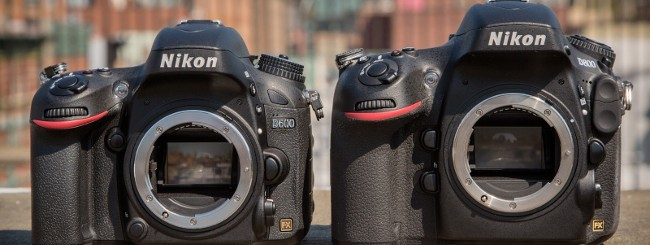 Nikon D800 e D600