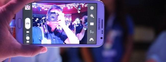 Samsung Galaxy Note 2, fotocamera