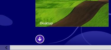 Il pulsante che permette di accedere all'elenco delle app installate.