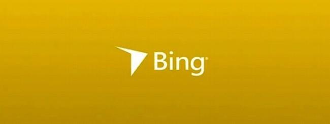 Bozza del futuro logo Bing