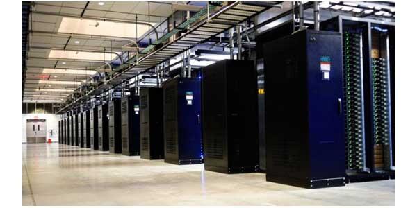 Il data center di Facebook nell'Oregon.