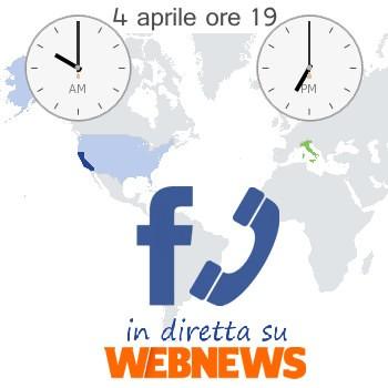 Facebook Phone, in diretta su Webnews.it