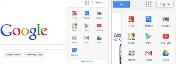 Il restyling alla homepage di Google, avvistato per la prima volta a fine febbraio