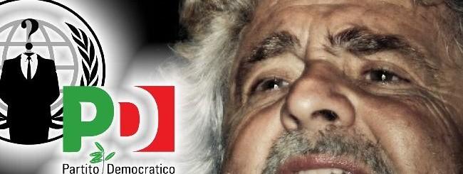 Hacker del PD vs Grillo
