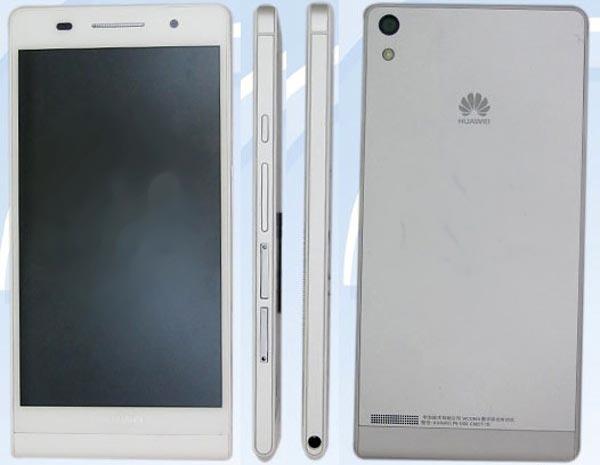 Huawei P6-U06, prima immagine dello smartphone più sottile al mondo
