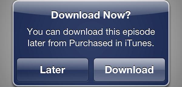 iTunes Store, nuova opzione Scarica dopo