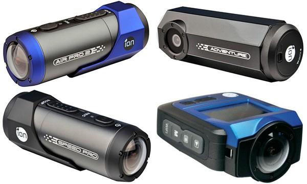 Le action camera iON Air Pro 2, iON Adventure, iON Speed Pro e iON The Game, pronte al debutto in Italia