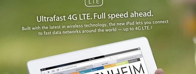 LTE su iPad
