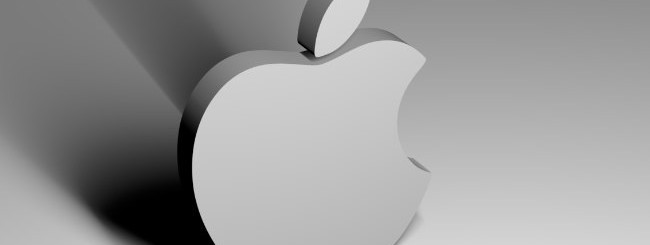 Il logo di Apple.