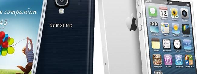 Samsung Galaxy S4 e iPhone 5