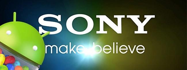 Jelly Bean per i tablet Sony