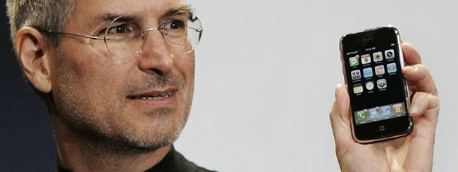 Steve Jobs e iPhone.