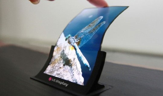 Display OLED flessibile LG