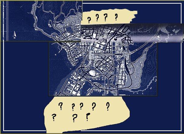 GTA 5, l'area cittadina dovrebbe essere questa