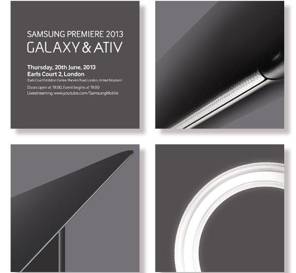 Poster evento Samsung del 20 giugno