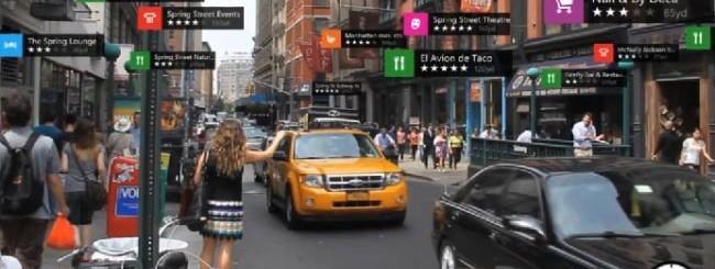 LiveSight in Nokia HERE Maps