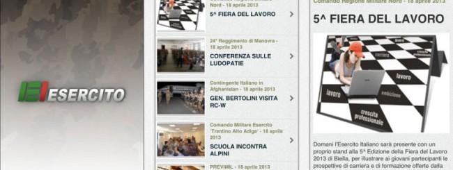 NewsEI - Esercito Italiano