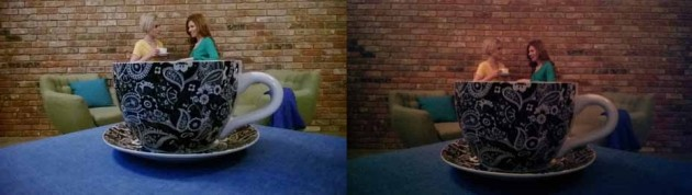Confronto tra Nokia Lumia 925 (sinistra) e HTC One (destra).